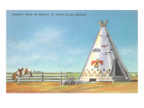 Jerome's Tepee  Grand Island  Nebraska