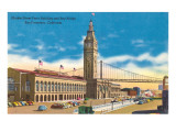 Market Street Ferry Building  San Francisco  California
