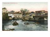 Pawtuxet Falls  Cranston  Rhode Island