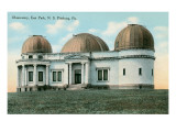 East Park Observatory  Pittsburg  Pennsylvania