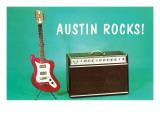 Austin Rocks Electric Guitar and Amp