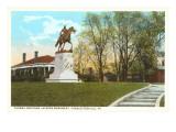 Stonewall Jackson Monument  Charlottesville  Virginia