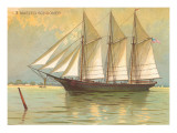 Three-masted Schooner