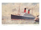 Cunard Carmania  Ocean Liner