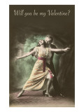 Will You Be My Valentine  Tango Dancers
