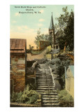 Rock Steps  Catholic Church  Harper's Ferry  West Virginia