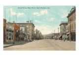 State Street  Santa Barbara  California
