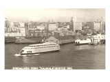 Streamlined Ferry  Seattle  Washington