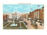 Monument Square  Racine  Wisconsin