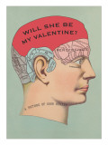 Will She Be My Valentine  Phrenology