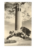Coit Memorial Tower  San Francisco  California