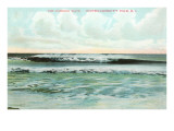 Combing Wave  Narragansett Pier  Rhode Island