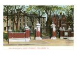 Van Wickle Gate  Brown University  Providence  Rhode Island