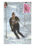 Slalom Ski Racing