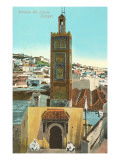 Mosque of Isawia  Tangiers  Morocco