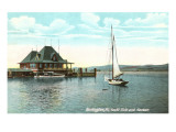 Sailboat  Yacht Club  Burlington  Vermont