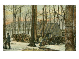 Maple Sugar Camp  Vermont