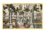 Horton Plaza Fountain  San Diego  California