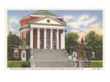 University Rotunda  Charlottesville  Virginia