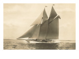 Gaff-Rigged Schooner