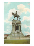 Robert E Lee Monument  Richmond  Virginia