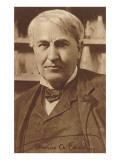 Photograph of Thomas Edison