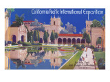 Poster for Pacific Exposition  San Diego  California