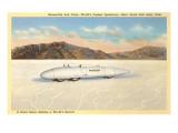 Racer  Bonneville Salt Flats  Utah