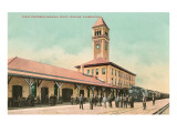 Railroad Depot  Spokane  Washington