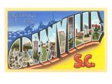 Greetings from Greenville  South Carolina