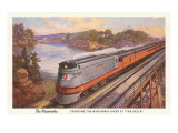 Streamlined Train  Wisconsin Dells