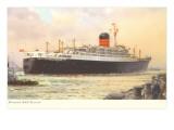 Cunard Ivernia  Ocean Liner
