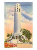 Coit Tower  Telegraph Hill  San Francisco  California