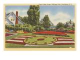 Floral Clock  Roger Williams Park  Providence  Rhode Island