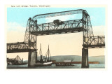 Lift Bridge  Tacoma  Washington