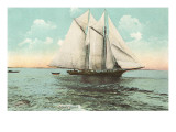 Gaff-Rigged Fishing Schooner
