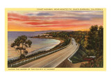 Coast Highway  Santa Barbara  California