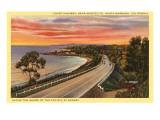 Coast Highway  Santa Barbara  California