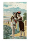 Old Time Bathing Beauties  Coronado  California