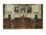 Senate Chamber  State Capitol  Madison  Wisconsin