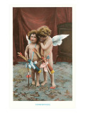 Conspirators  Two Victorian Cupids