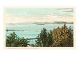 Lake Champlain  Burlington  Vermont