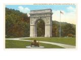 World War Memorial Arch  Huntington  West Virginia