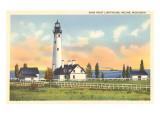 Wind Point Lighthouse  Racine  Wisconsin