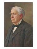 Portrait of Thomas Edison