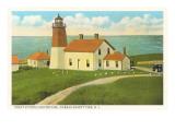 Pt Judith Lighthouse  Narragansett Pier  Rhode Island