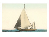 Two-Masted Sailboat