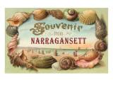 Souvenir from Narragansett  Rhode Island