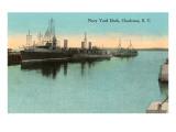 Navy Dockyard  Charleston  South Carolina