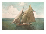 Top-Sail Schooner
